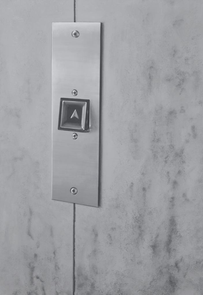 Nach oben (Alles hat eine Bedeutung Nr. 2) 2013 | Acryl auf Leinwand | 160 x 110 cm