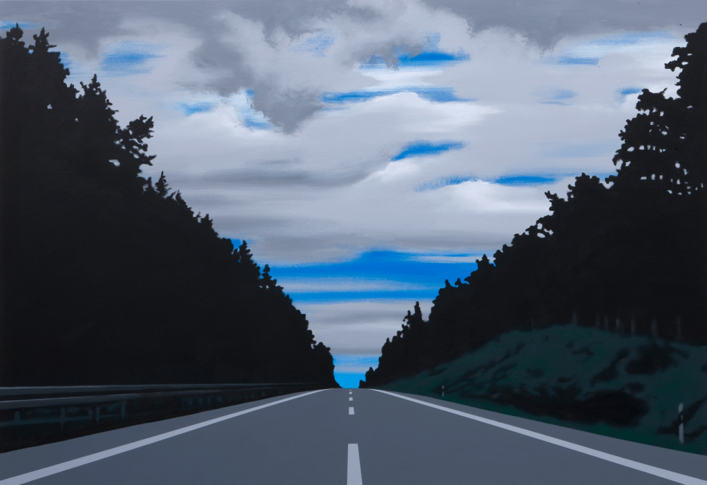 Alles wird gut | 2010 | Acryl auf Leinwand | 110 x 160 cm