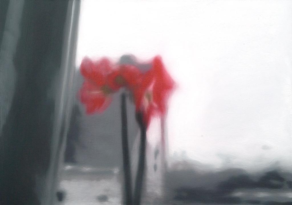 Sofies Welt eins (Schnappschuss von Sofie mit 3-Jahre) | 2008 | Öl auf Leinwand | 50 x 70 cm