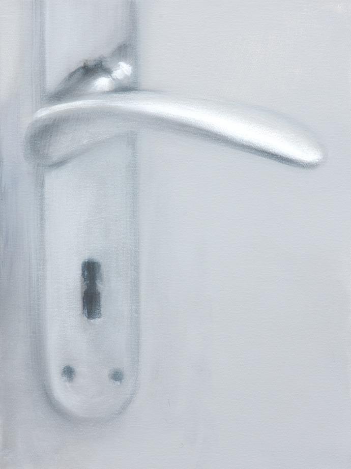 Türklinke | 2013 | Acryl auf Leinwand | 40 x 30 cm|