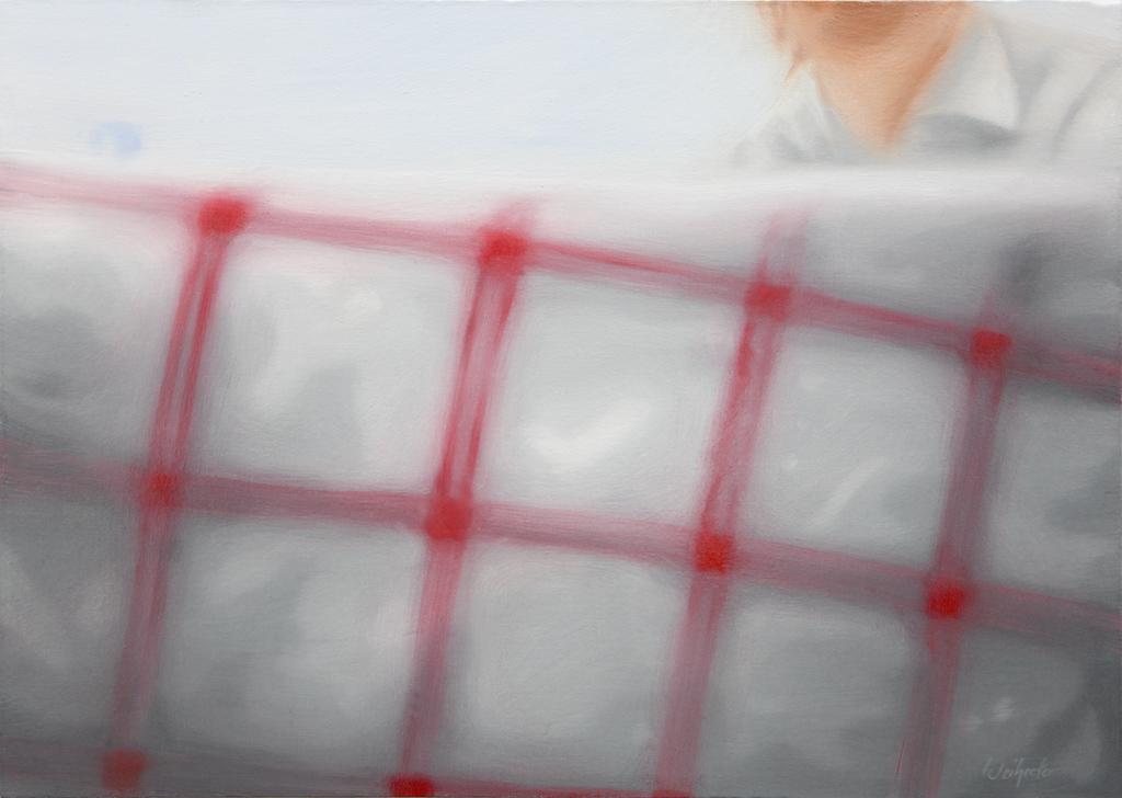 Sofies Welt drei (Schnappschuss von Sofie mit 3-Jahre) | 2008 | Öl auf Leinwand | 50 x 70 cm