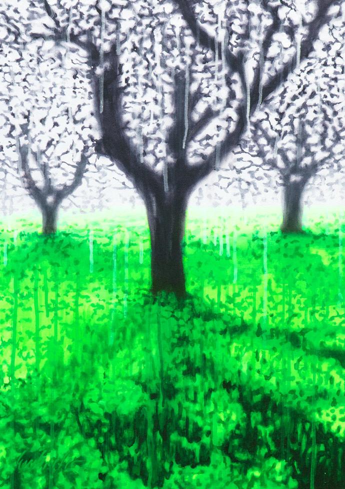 Licht und Schatten | 2011 | Acryl auf Leinwand | 70 x 50 cm