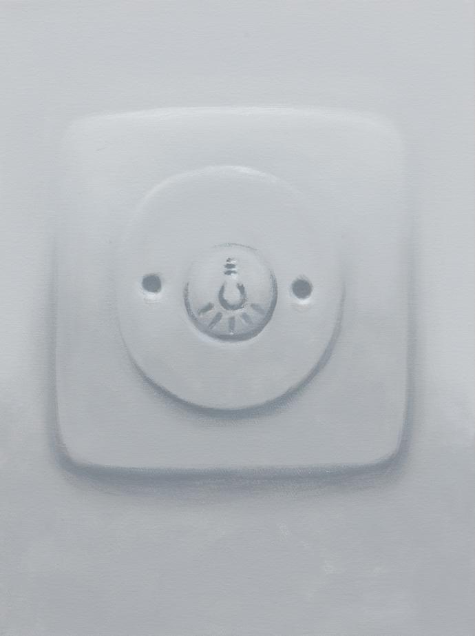 Lichtschalter | 2013 | Acryl auf Leinwand | 40 x 30 cm