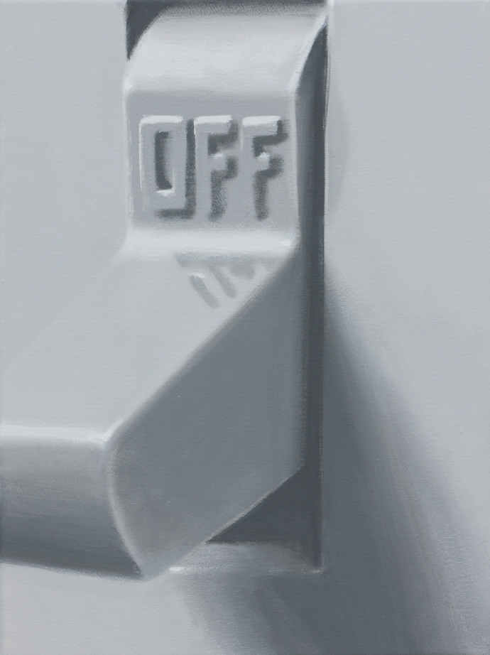 Off | 2013 | Acryl auf Leinwand | 40 x 30 cm