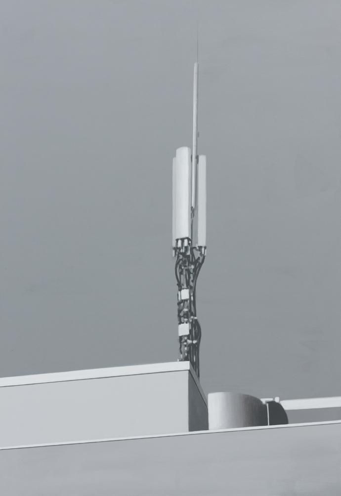 Ursache und Wirkung | 2013 | Acryl auf Leinwand | 160 x 110 cm
