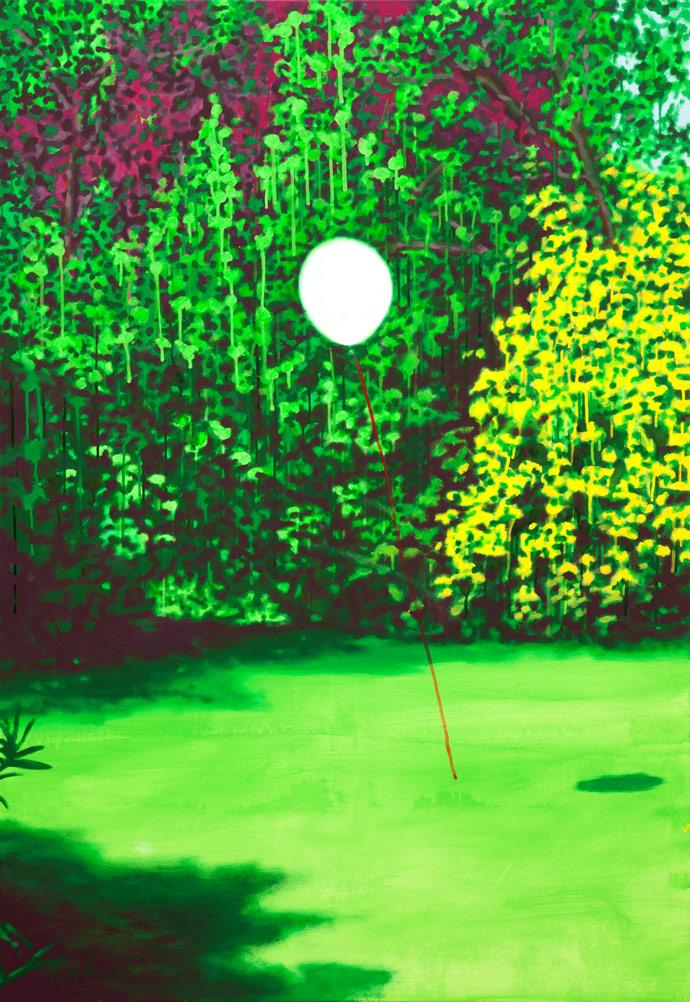 Wer hätte gedacht dass es so leicht ist | 2011 | Acryl auf Leinwand | 160 x 110 cm