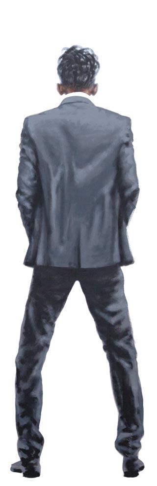 6. von 12 | 2014 | Acryl auf Leinwand | 200 x 65 cm
